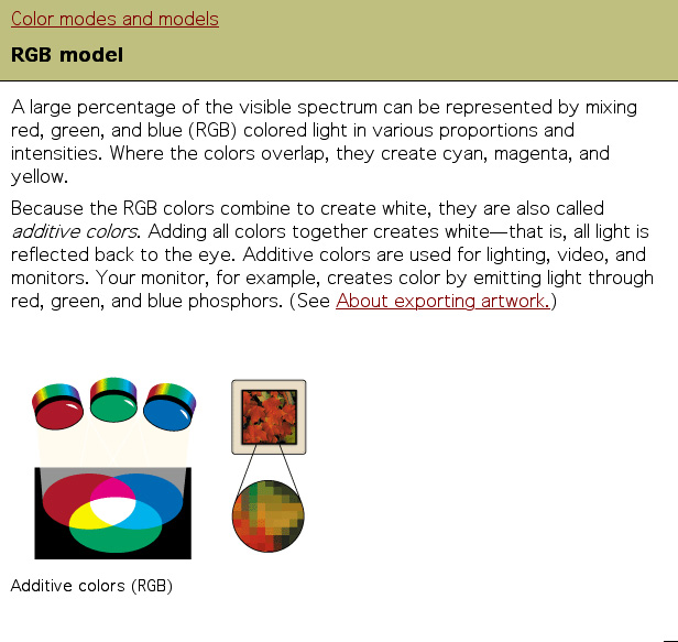 The RGB Model Is Used To Reproduce Spectrum Of Visible Light A Monitor Transmits In This Way Its Called Additive Primary Because