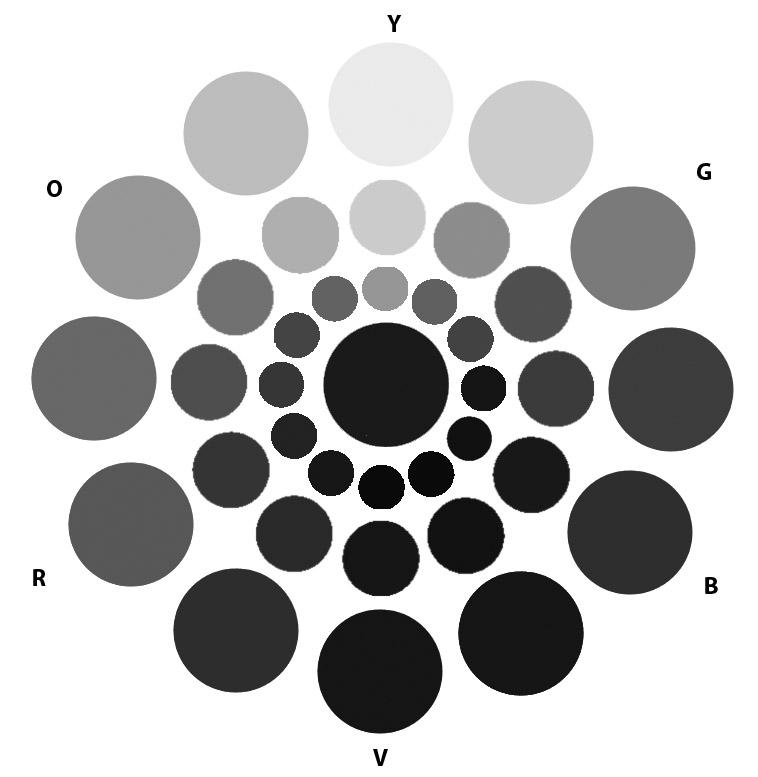 Comd Class 21 Prismatic Color Studies Graphic Design Principles I