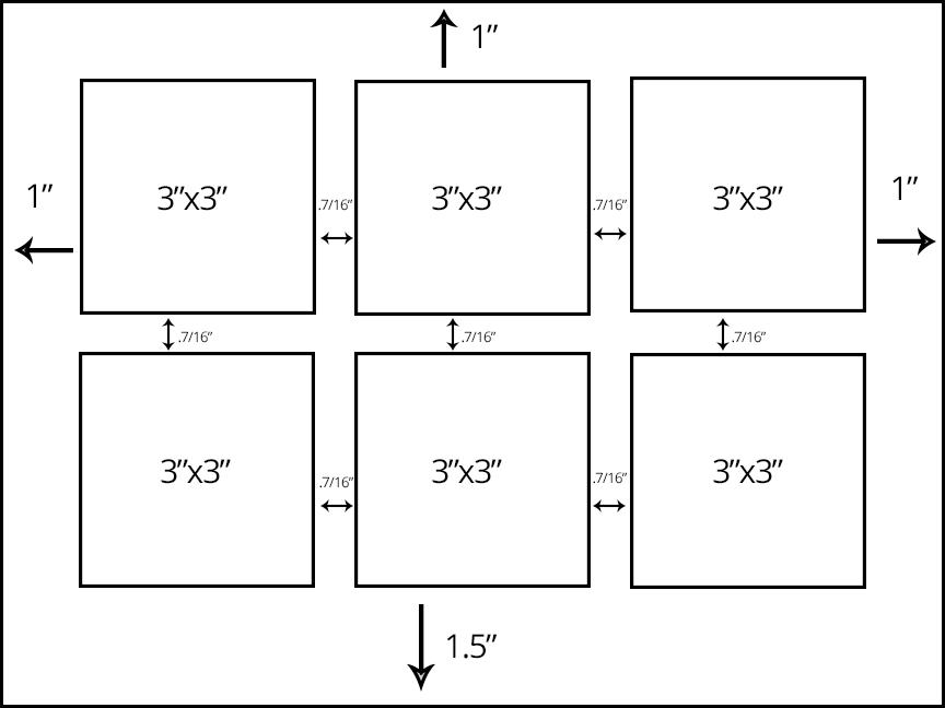 inked layout