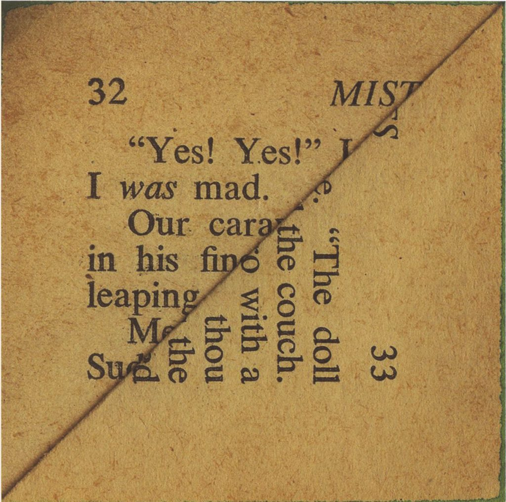 text in art example