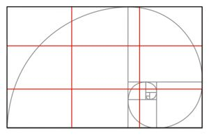 rule of thirds - golden ratio